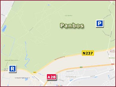 Kaart Panbos